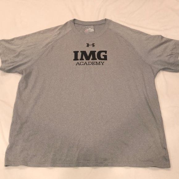 size 40 ab6d1 5fe43 Grey IMG Academy T-Shirt
